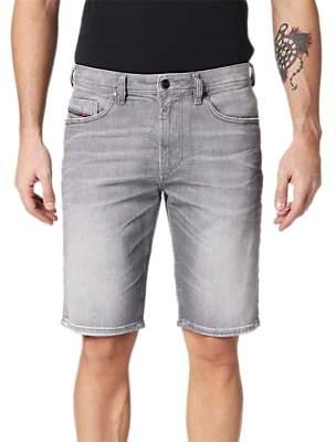 Diesel Thoshort Slim Denim Shorts, Grey 0839N