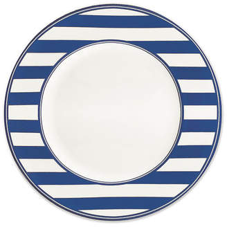 Caskata Beach-Towel-Striped Dinner Plate - 11