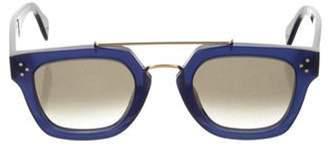 Celine Square Gradient Sunglasses Blue Square Gradient Sunglasses