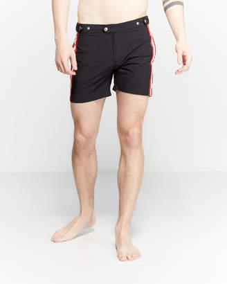 Solid & Striped The Kennedy Side Stripe Swim Shorts