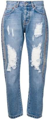 Couture Forte Dei Marmi distressed jeans