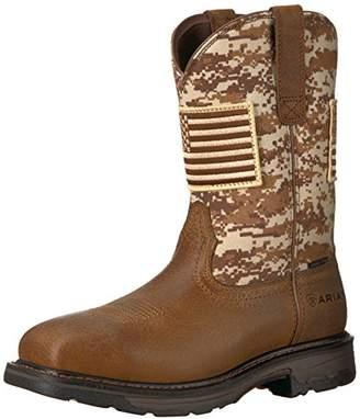 Ariat Work Men's Workhog Patriot Steel Toe Construction Boot