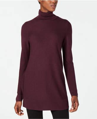 Eileen Fisher Tencel® Long-Sleeve Turtleneck Tunic