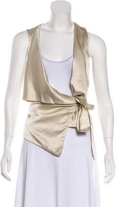 Alexander Wang Silk Wrap Vest