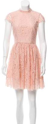 Keepsake Guipe Lace Mini Dress w/ Tags