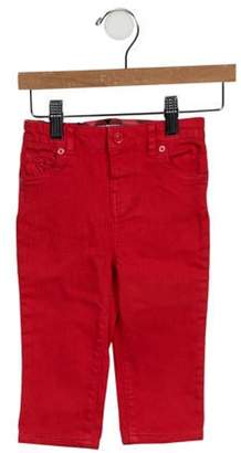 Burberry Mid-Rise Straight-Leg Jeans w/ Tags red Mid-Rise Straight-Leg Jeans w/ Tags