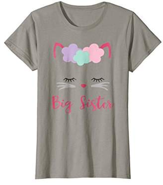 Kitty Cat Big Sister Shirt I'm Going to be a Big Sister Tee