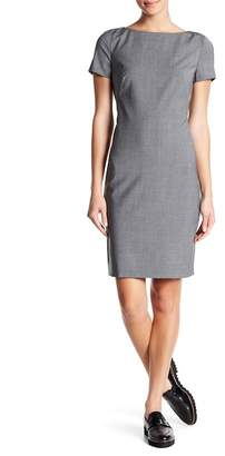Theory Betty Continuous Wool Blend Dress