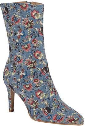 Heine Short Floral Boots