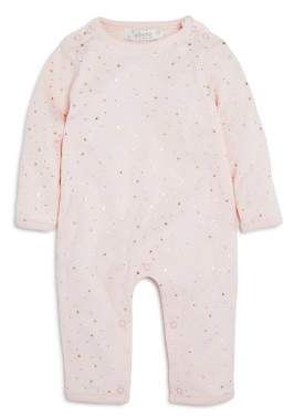 Albetta Girls' Metallic Star Print Coverall with Angel Wings, Baby - 100% Exclusive