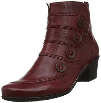 Gabor Shoes Women's Casual Ankle Boots, (Dark-Red 55)
