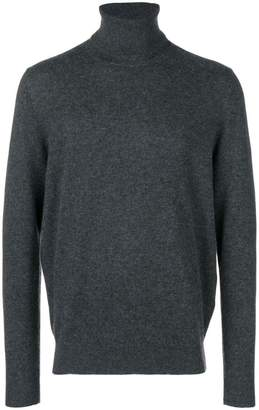 Chalayan split roll neck jumper