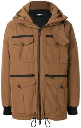 DSQUARED2 hooded parka jacket