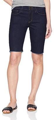 NYDJ Women's Petite Briella Short Fray Hem