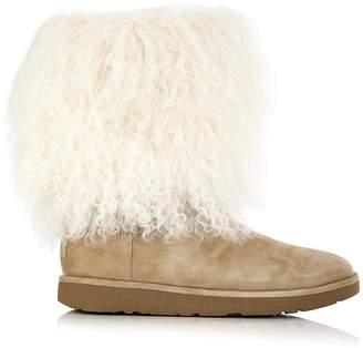 UGG Lida Fluff Treadlite Boots - Taupe