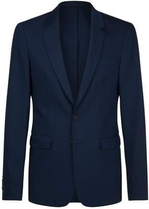Sandro Single-Breasted Wool Jacket