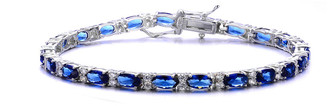 Genevive Silver Bracelet