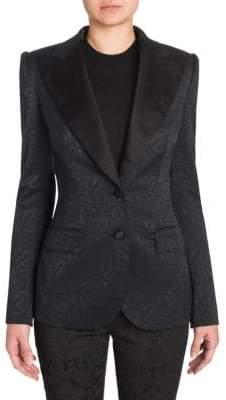 Dolce & Gabbana Silk Jacquard Jacket