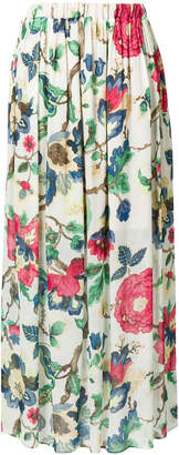 Semi-Couture Semicouture floral print maxi skirt