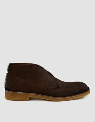 Dries Van Noten Hairy Chukka Boot