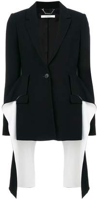 Givenchy flared panel blazer