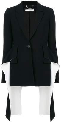 Givenchy flared panel blazer
