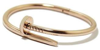 Sterling Forever 14K Gold Plated Brass Nail Bangle