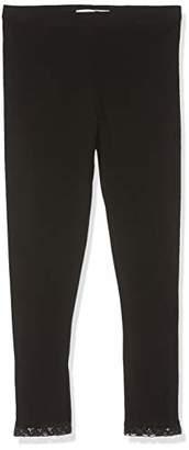 Name It NOS Girl's Nkfvista Capri Legging Noos Black