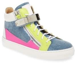 Giuseppe Zanotti London High Top Sneaker