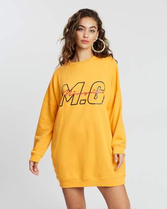 Missguided MG Signature Sweat Dress