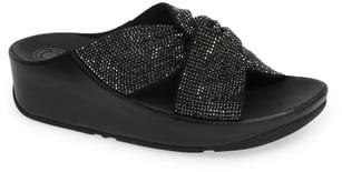 FitFlop Twiss Crystal Embellished Slide Sandal