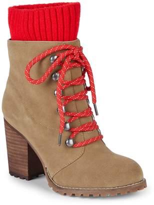 RENVY Kari Stack Heel Hiking Boots