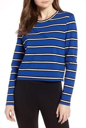 Halogen Stripe Knit Top (Regular & Petite)