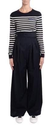 Semi-Couture Semicouture Billy Joy Overall With Blue And White Sweater And Trousers