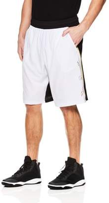 AND 1 Men's Lightweight Polyester Court Vision Basketball Gym & Workout Shorts