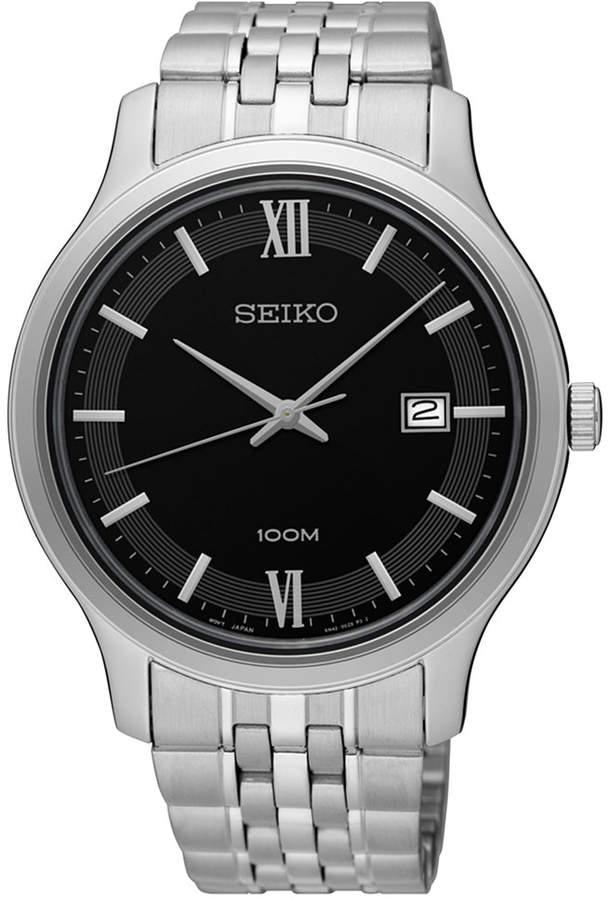 SeikoSeiko Men's Special Value Stainless Steel Bracelet Watch 41mm SUR221
