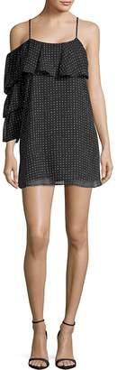 Lucca Couture Women's Polka-Dot Ruffled Dress