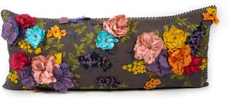 Mackenzie Childs MacKenzie-Childs Covent Garden Floral Lumbar Pillow