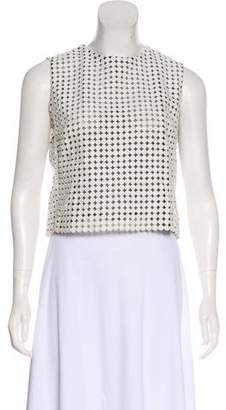 Victoria Beckham Victoria Sleeveless Lace Top