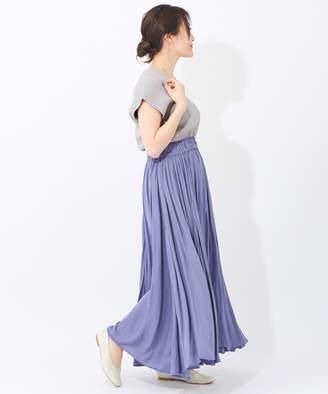 ear PAPILLONNER (イア パピヨネ) - イア パピヨネ ボリュームギャザースカート