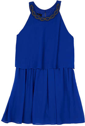 BY AND BY GIRL by&by girl Sleeveless Pattern A-Line Dress Girls