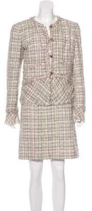 Chanel Lesage Tweed Skirt Suit