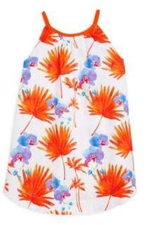 Little Girl's & Girl's Palm Beach Cotton Dress