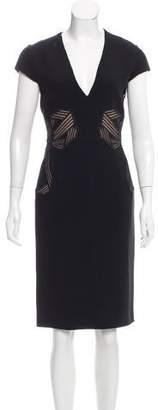 Stella McCartney Embroidered Sheath Dress w/ Tags