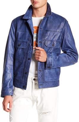 Gilded Age Aged Leather Jacket