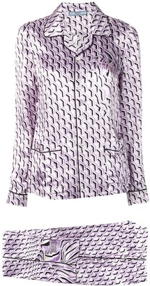Prada patterned pajama
