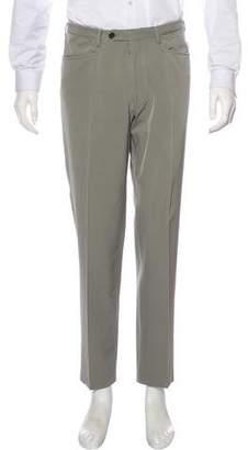 Prada Slim Flat Front Pants