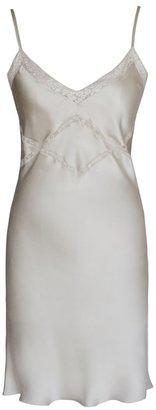 Lily Ashwell Shiva Slip Dress - Fog Silk
