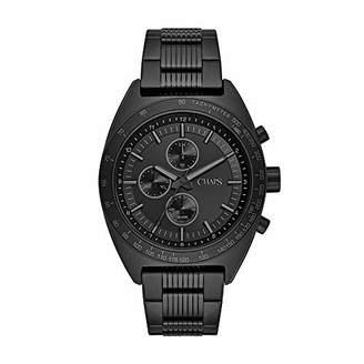 Chaps Men's Rockton Quartz Watch with Stainless-Steel Strap