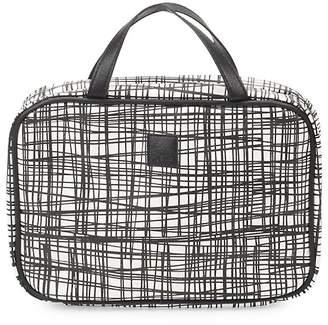 Saks Fifth Avenue Textured Tassel Makeup Bag